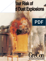 GreCon Spark Detection Dust Explosion Flyer