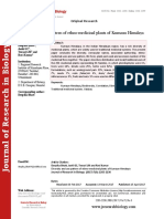 Diversity and use pattern of ethno-medicinal plants of Kumaun Himalaya