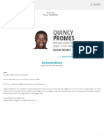 Quincy Promes Scouting Report