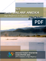 Kabupaten Sigi Dalam Angka 2016