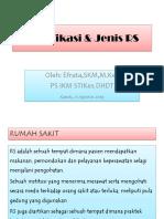 2. Klasifikasi & Jenis Rs