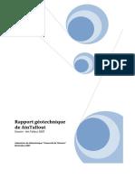Rapport Géotechnique