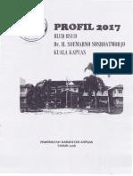 Profil 2017 - RSUD Dr. H. Soemarno Sosroatmodjo Kuala Kapuas