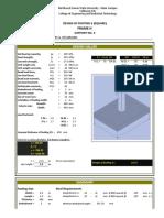 273134160 Design of Footing