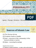 Civil Personality Report