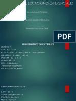 Trabajo Final Ecuaciones Diferenciales
