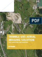 Trimble UX5 Specs