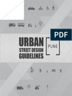 Urban Street Design Guidelines Pune