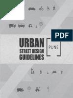 Urban Street Design Guidelines Pune