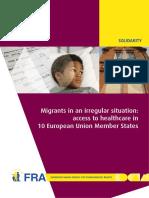 1771 FRA 2011 Fundamental Rights for Irregular Migrants Healthcare En