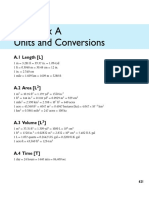 Appendix a Units and Conversions 2013 Groundwater Science Second Edition
