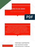 Proyecto de Ddhh