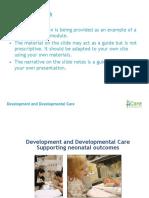 FICARE Development and Developmental Care Edited