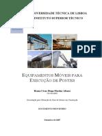 Equipamentos Móveis Para Construção de Pontes - Bruno Afonso