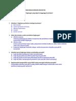 Post Test Plh Hubungan Lingkungan Dengan Kesehatan