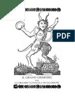 Il Grand Grimoire - Clavicola Salomonis - La Chiave Di Salomone - Primo Libro.doc