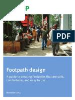 Footpath Design 131030 ITDP