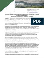 25 Communities to Receive Site Development Grants