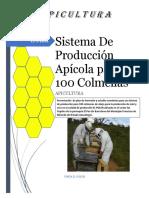 Proyecto Apicola Los Yopales Para 100 Colmenas