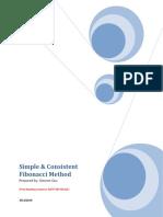 Simple and Consistance Fibonaci Pattern