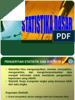 Pengantar Konsep Dasar Statistik