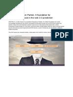 Online Pseudonym Parties