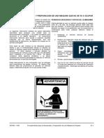 A07003 Procedimientos de Almacenaje SM 930E-4