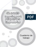 Cuaderno Negocios Para Pequeños Empresarios