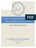 Guide to Small Business Funding Opportunities & Incentives