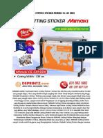 CALL/WA 0812-9766-7579 | Jual Mesin Cutting Sticker A4