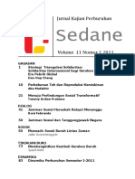 Jurnal Kajian Perburuhan Sedane Vol 11 No. 1 2011