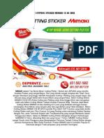 CALL/WA 0812-9766-7579 | Harga Mesin Cutting Sticker Di Semarang