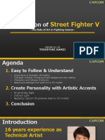 Kamei_Art Direction Street Fighter