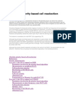 Absolute Priority Based Cell Reselection