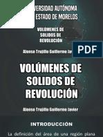 Volumen de Solidos de Revolucion