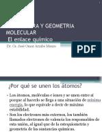 Geometria Molecular (Enlace Quimico)