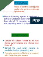 Turbine Governing 600MW