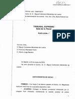 La resolució del Suprem de Joaquim Forn