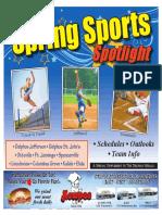 2018 Spring Sports