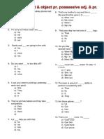Exam 1_ Personal Pronouns