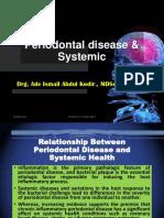 Periodontal Disease & Systemic, 19 Mei 2017 Revisi