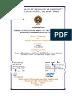 Anjali Internship Report - Copy (2)