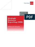 Strategic Business Reporting With Table Sepember 2018