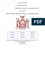 Amendments to Ny Constitution