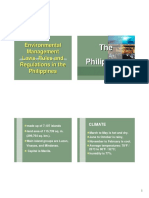 Workshop Presentation - Environmental Laws and Regulations in the Philippines