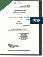 People v. Felix Sater, 201 AD2d 323 (1st of 3) - Criminal Appeal