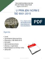 Izazovi u Primjeni Norme ISO 9001