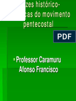 Raizes historico-teologicas do movimento pentecostal