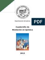 Cuadernillo QUIMICA 2013