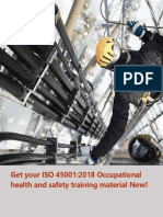 Get Your ISO 45001 2018 Training Materials Now